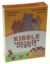 Kibble Scuffle Card Game Wizkids Cats Kitten Food Tactical Family Area Control - $18.09