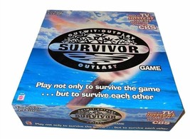 Vintage Survivor Board Game 2000 Outwit Outplay Outlast Based On The TV ... - $16.83