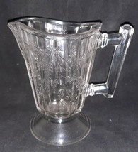 Antique Bryce Wheat and Barley Cream Pitcher 5 Inch Pressed Glass EAPG - $28.99