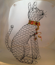 Sitting Cat Topiary Frame - $65.00