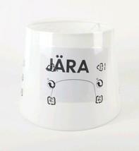 "Ikea Jara White Lamp Shade 7.5"" Tall x 10"" Wide 003.283.52 - $18.80"