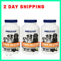 270 Count Dog Multi Vitamins For All Life Stages Health Care Chewable Ta... - $28.66