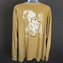 Vans Men's Long Sleeve Shirt Size XXL Tan RP14 - $16.82