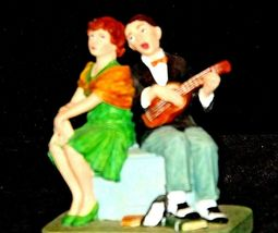 """Serenade"" by Norman Rockwell Figurine AA19-1659 Vintage image 7"
