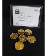 Extremely Rare! Walt Disney Once Upon A Time Original Used Treasure Coin... - $366.30