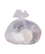 """Ultra Plus High Density Can Liners 16 gallon, 8mic, 24""""x33"""" Natural 200/... - $18.90"""