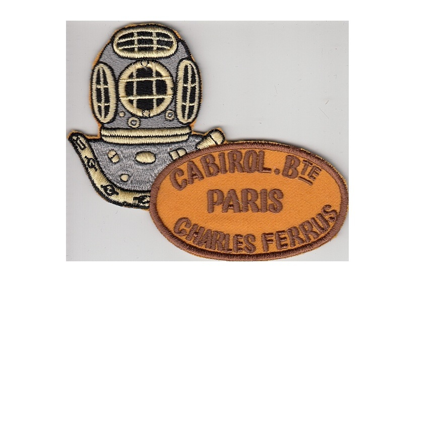 Ng france specialit s m caniques r unis cabirol charles ferrus 12 bolts diving helmet paris gold