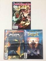 Futures End #1, Batman & Robin # 1 & Batgirl #1 3D Lenticular Covers - $5.93