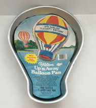 vintage 1982 wilton cake up n away balloon pan birthdays special occasions party - $13.86