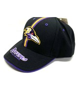 Baltimore Ravens Vintage NFL Purple 15% Wool 3-D Logo Cap (New) By Twins... - $29.99