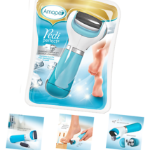 Amope Pedi Perfect Electronic Foot File - Regular Coarse, Blue