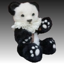 Panda Bear Blue Eyes One of a Kind Artist Made - $185.00