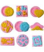 16 Styles Silicone Mold Fondant DIY Cake Decorating Tool Baking Chocolat... - $16.00