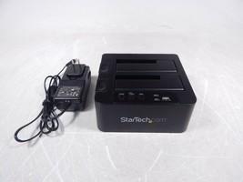 "StarTech SDOCK2U313R USB 3.1 Gen 2 Standalone Duplicator 2.5"" and 3.5"" HDD Dock - $45.14"