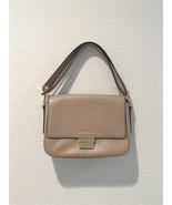 MICHAEL KORS Women's Natural Madelyn Large Leather Shoulder Bag 30T6GM6L3L - $238.23