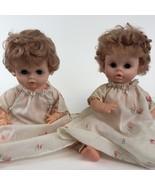 "Set of 2 Vintage Eegee's Co. 13"" Babydolls - $49.50"