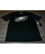 PHILADELPHIA EAGLES NFL FOOTBALL PULLOVER Coolbase JERSEY T-SHIRT MEDIUM... - $24.74