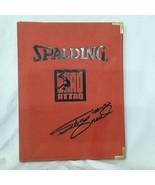 Shaquille O'Neal Spalding Shaq Attaq Coach Portfolio Notepad Folder Cover - $24.72