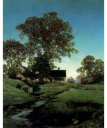 Evening 22x30 Hand Numbered Ltd. Edition Maxfield Parrish Art Deco Print - $81.09