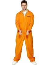 "ESCAPED PRISONER COSTUME,COPS & ROBBERS FANCY DRESS,JAIL BIRD, 38""-40"",M... - $22.70"