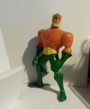 Mcdonalds Aquaman Action PVC Figure Cake Topper - $3.95