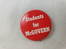 1972 Students for McGovern George McGovern Presidential Election Campaig... - $3.92