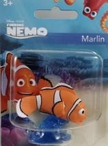 Finding Nemo MARLIN Mini Figure Collectible Or Cake Topper Disney Pixar - $5.00
