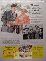 1942 RARE Esquire Advertisement AD WWII Camel Cigarettes! WWII Era - $8.00