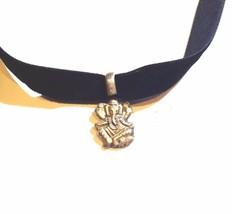 Vintage Tibetan Handmade 925 Sterling Silver Ganesha Pendant Choker Necklace - $25.34