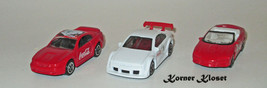 Lot of 3 Matchbox Coca Cola Bear Cars - Mustang, Opel Calibra & Camero SS - $16.40