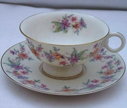 Theodore Haviland Springtime Footed Cup & Saucer - $18.80