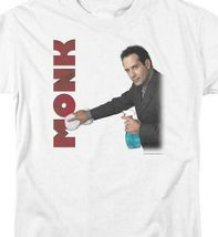 Monk t-shirt American comedy drama TV detective Adrian Monk graphic tee NBC150 image 3