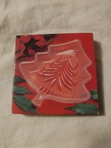 """Awesome Christmas Holiday Mikasa Yuletide Tree Frost Sweet Dish 5"""" WY155/503 - $14.95"""