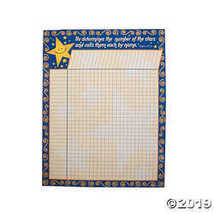 Number of the Stars Spiritual Chart - $3.86