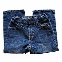 B'Gosh Classic Kids Size 3T Blue Jeans Straight Leg Medium Wash Cotton - $7.99