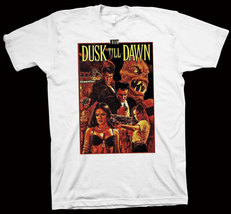 From Dusk Till Dawn T-Shirt Quentin Tarantino, Harvey Keitel, Hollywood,... - $14.99+