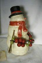 Bethany Lowe Traditional Smiley Snowman image 4