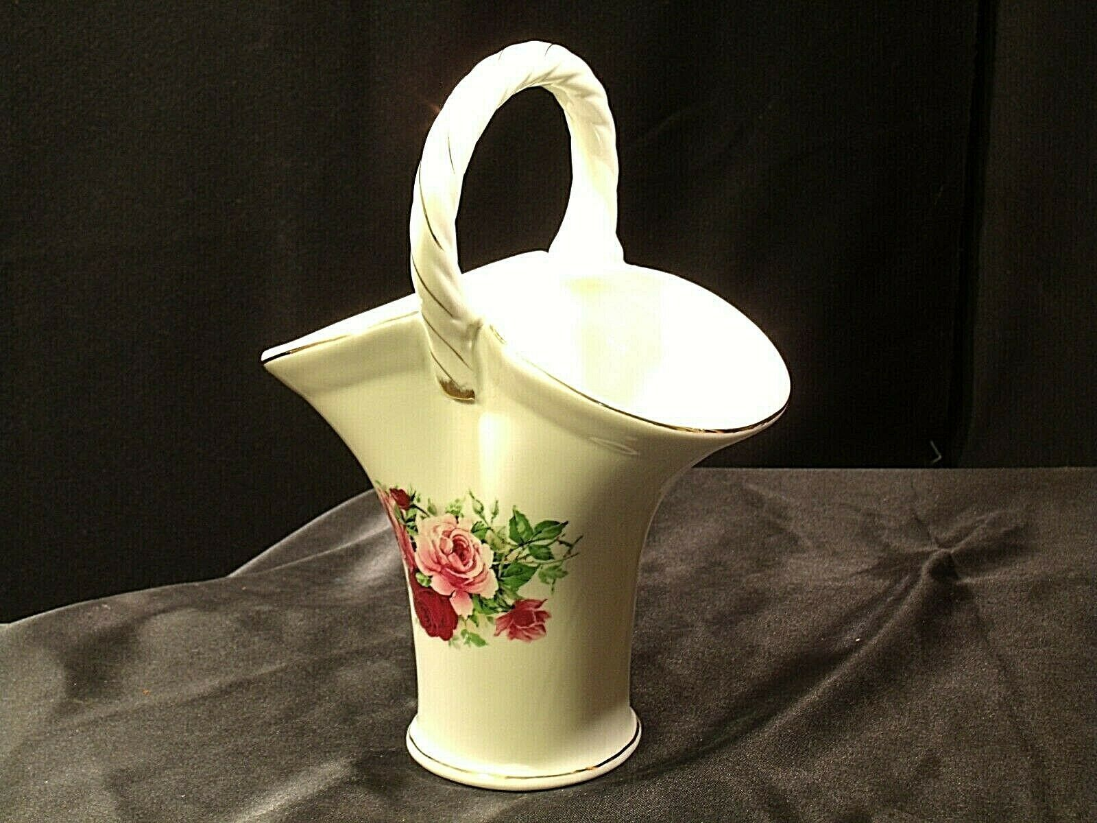 Ceramic Vase with Handle AA19-2053 Vintage