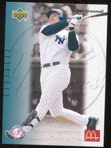 2003 Upper Deck McDonald's New York Yankees  Restaurant 18 Bubba Trammell - $3.00