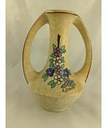 """A. DuBois Flower Vase Pottery 8.25"""" - $36.33"""