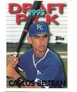 Baseball Card- Carlos Beltran 1995 Topps #18T - $1.00