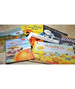 Scholastic Halloween Book Lot 10 Activity Coloring Marly Pumpkin Puzzle ... - $24.73