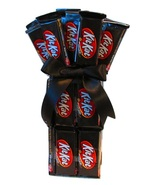 Dark Chocolate Kit Kat Candy Bouquet by The Candy Vessel - $19.99