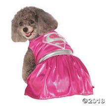 Pink Supergirl Dog Costume - Large - $21.23