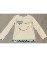 Garanimals Toddler Girl Long Sleeve Graphic Shirt (SIZE 4T)  - $9.85