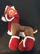 Rudolph the Red Nose Reindeer Soft Plush with Scarf 50 Years Edition wit... - $21.53