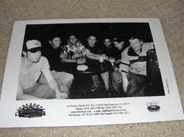 Mad Caddies Glossy Promotional Photo (fat wreck nofx) 1999 - $6.00