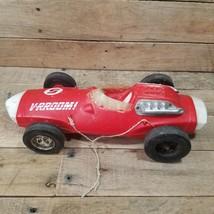 """Vintage 1963 VRROOM #5 Indy Car Mattel Toy 14-1/2"""" Long Used Shape - $12.82"""
