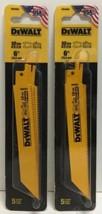 "(New) DEWALT DW4806 9"" 10-TPI  Bi-Metal Reciprocating Saw Blade  Pack of 2 - $25.73"