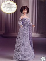 Jacqueline Kennedy First Ladies Collection fits Barbie Doll Crochet Patt... - $8.97